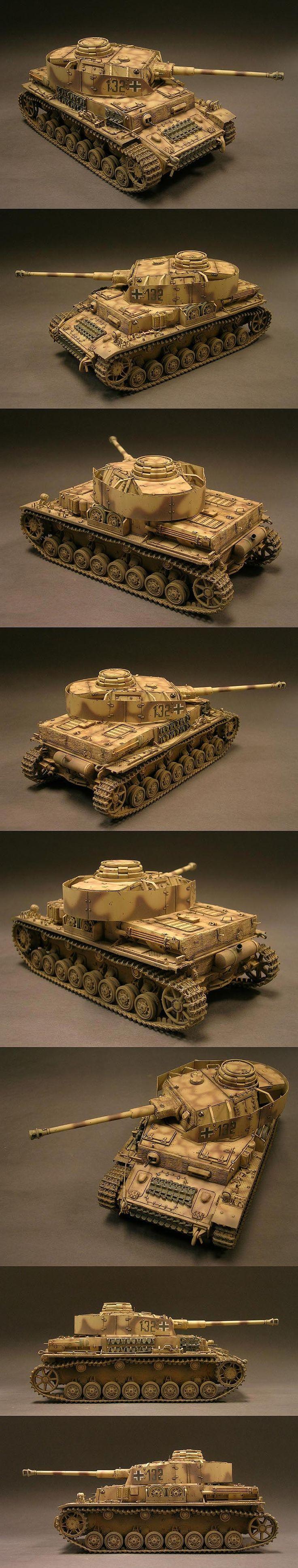 Panzer IV Ausf.J 1/35 Scale Model