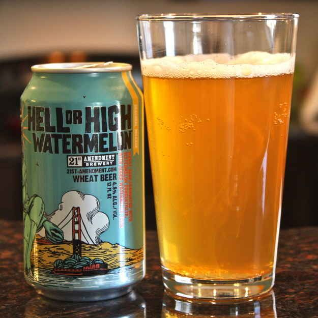 21st Amendment's Hell Or High Watermelon