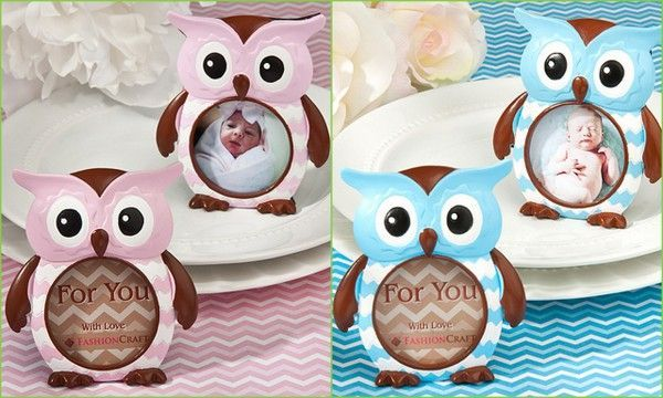 Owl Baby Shower Photo Frame