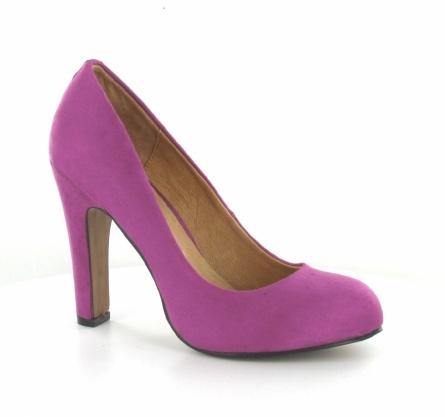 Simpele roze pump