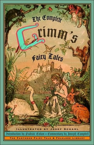 the Brother's Grimm Fairy Tales book cover illus. by Joseph Scharl