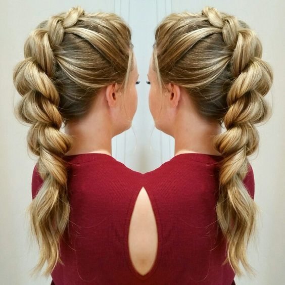 rollered hair styles best 25 braided mohawk hairstyles ideas on 8818