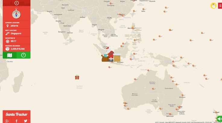 Siga el recorrido de Papá Noel por el mundo (ya está en Tailandia): http://washingtonhispanic.com/nota16833.html