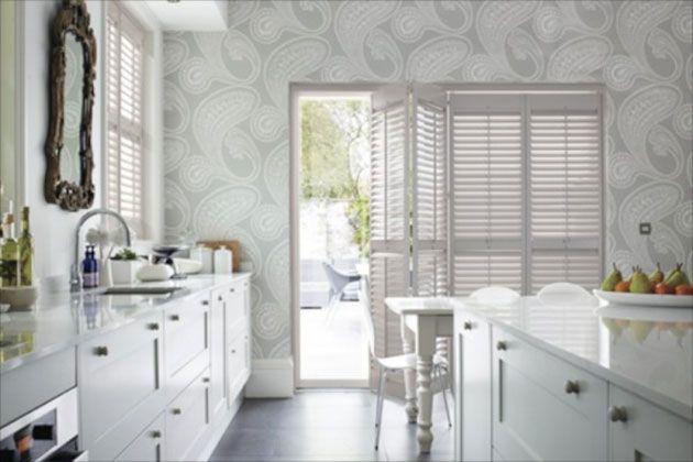 17 mejores ideas sobre papel pintado cocina en pinterest - Papel vinilico para banos ...