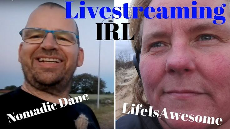 Meet up IRL with Nomadic Dane in Denmark. A Q and A Livestream