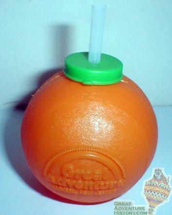 Fruit Drink Sippers: Always had to get one of these at the amusement park I remember those from Busch Gardens...