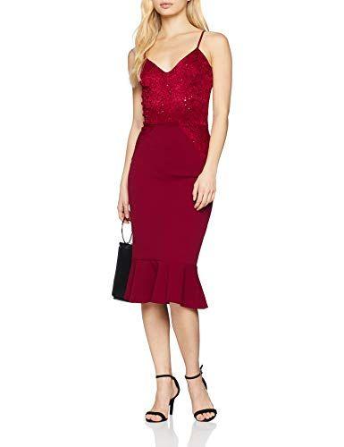Vestidos de fiesta rojo mujer