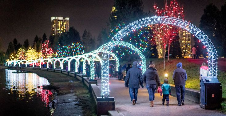 If you're looking to make your festive season truly merry and bright, look no further than these locations where Christmas lights are the main attraction.
