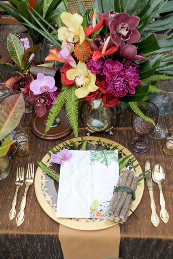 Jungle Book Wedding Inspiration