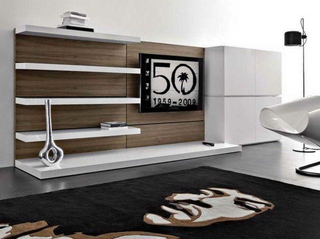 meuble design pour téléviseur tout en nuances