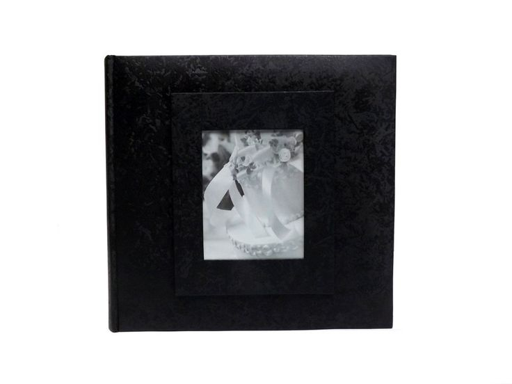 Wedding Story Photo Album/(set of 2)Jaquard Design w/window , Black,Holds 200photos, 5X7 Size ** Click image to review more details. (This is an affiliate link and I receive a commission for the sales)