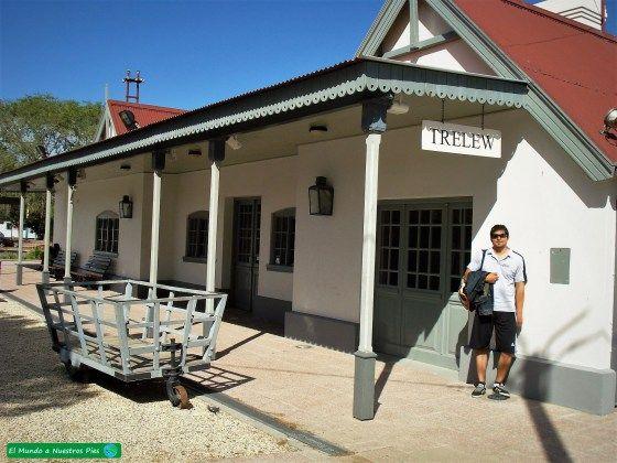 Estacion Tren Trelew  #PuertoMadryn #PuntaTombo #PeninsulaValdes #DiqueFlorentinoAmeghino