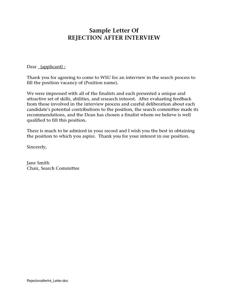Best  Thank You Interview Letter Ideas On