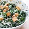 (To-Die-For) Greek Yogurt Kale Caesar Salad