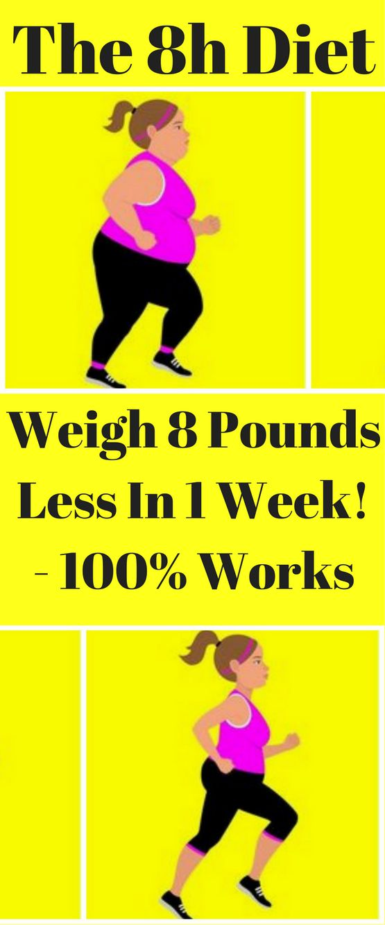 The 8h Diet - Weigh 8 Pounds Less In A Week!