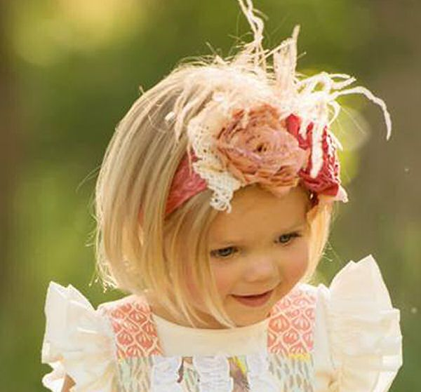 Persnickety Girls Headband Lizzie Bo Peep $46.00
