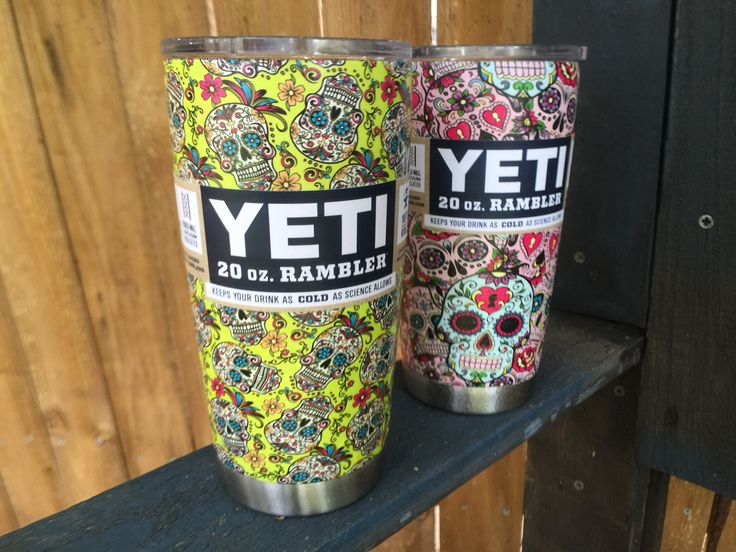 The Best Images About Hydro Dipped Yeti Cups On Pinterest - Sugar skull yeti cup
