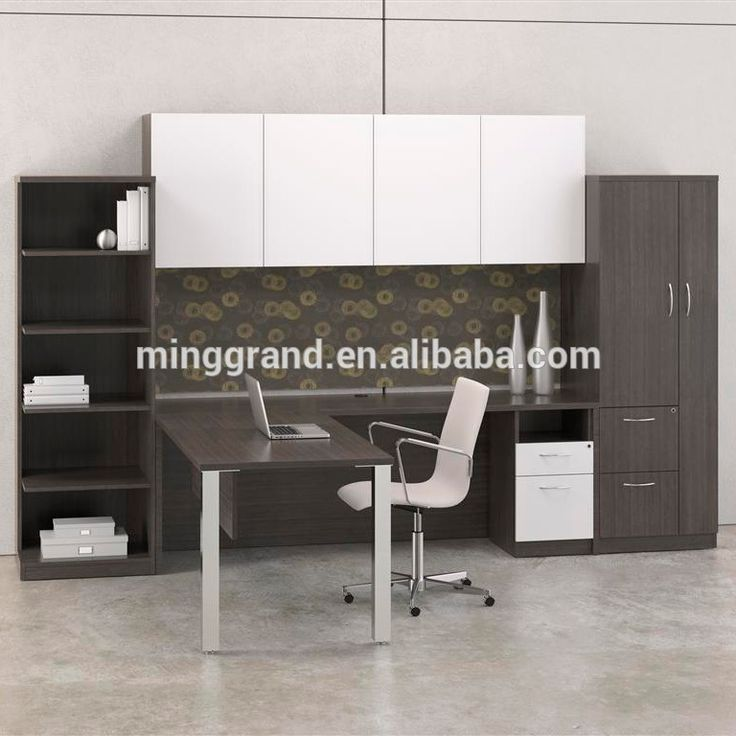 2015 hot venta negro laminado muebles de oficina moderna