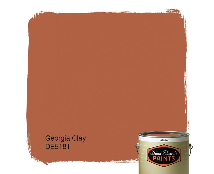 23 best the color tan images on pinterest dunn edwards Orange paint samples