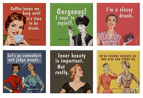 Old time pics with funny sayings