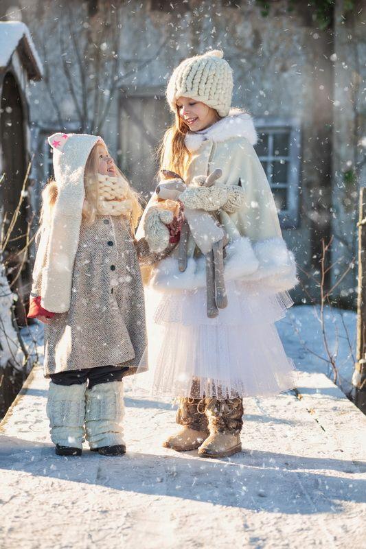 для нового номера @lapsetmag - http://lapsetmag.com/blog/poslednie-snezhinki/ Стиль @mlittle_ru @vingil_lab Модели МА Президент кидс