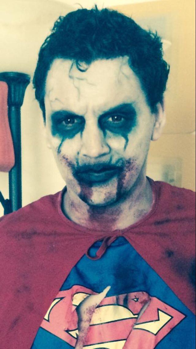 Zombie dead superman makeup