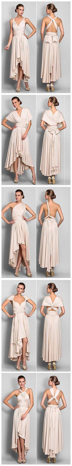 Blush Convertible Maxi Dress ♥ https://www.pinterest.com/hattiereegans/