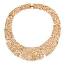 Новинка ювелирный сплав выдалбливают геометрическая колье заявление ожерелья для девушки женщин подарок XL5836(China (Mainland))