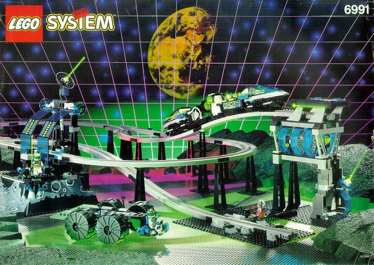 Set # 6991-1: Monorail Transport Base