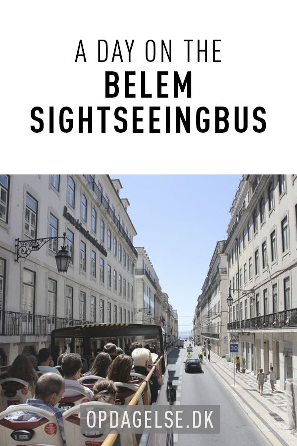 A day on the Belem sightseeingbus