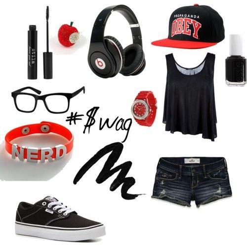 Swag School Outfits for Girls- Kya Hunter   Publish with Glogster!-Note, Don't judge, that'd look SNAAAAAAAAAAAAAAAZZY!!!