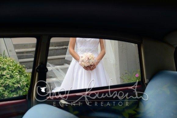 Bouquet raffinato e delicato per una sposa dal fascino shabby chic