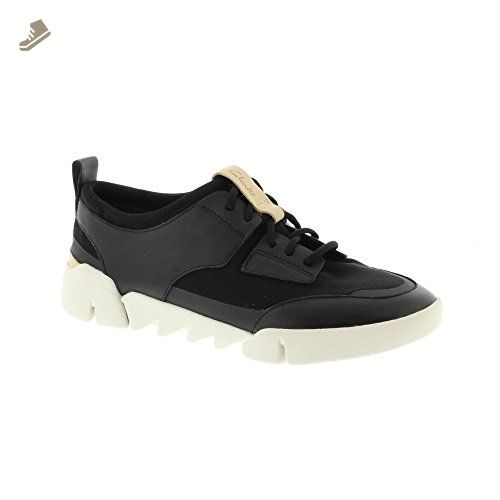 Clarks Tri Soul - Black Combi (Leather) Womens Trainers 10 US - Clarks  sneakers