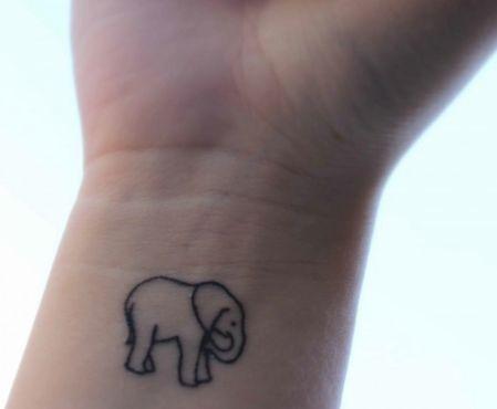 Elephant tattoo <3