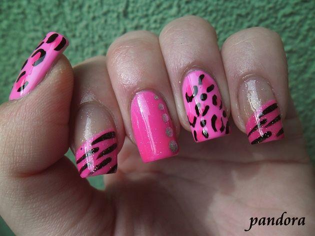 Pinky by pandora_nails - Nail Art Gallery nailartgallery.nailsmag.com by Nails Magazine www.nailsmag.com #nailart