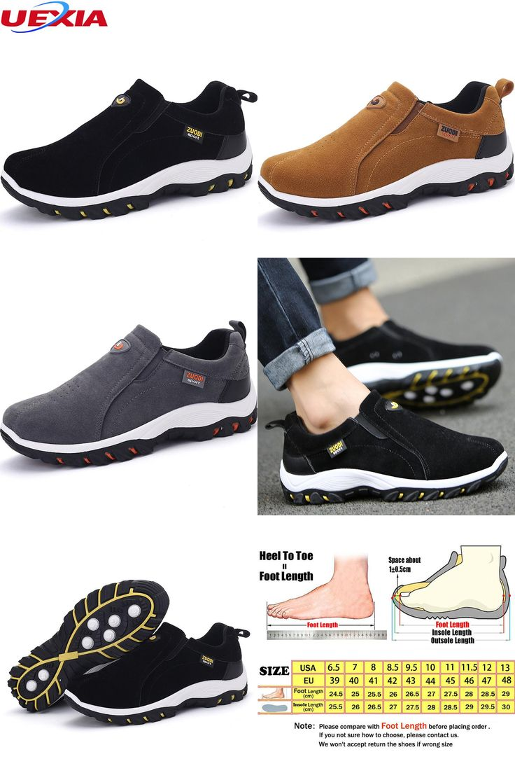 Mens Fashion Leisure Leather shoes Flat shoes Trainers Casual shoes Thick bottom Home Outdoor EUR SIZE 3844  B075Z71Q4D