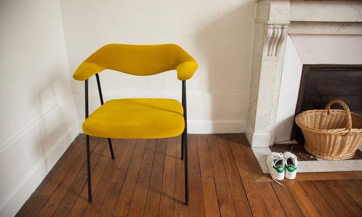 17 best images about chair chaise on pinterest for Chaise jaune moutarde