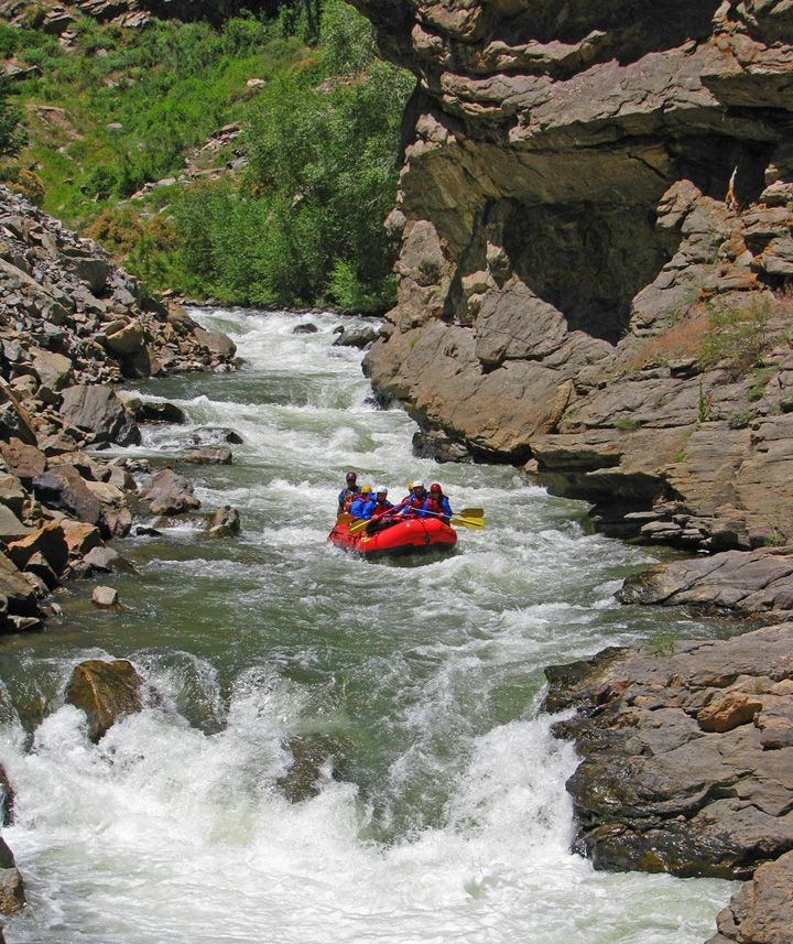 The Narrows - Colorado Whitewater - Clear Creek Rafting at All American Adventures