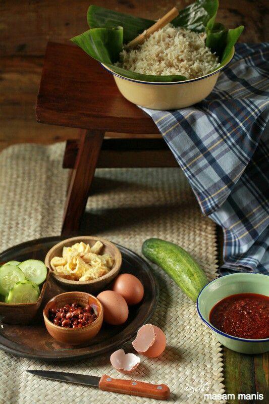 Ingredients nasi Uduk