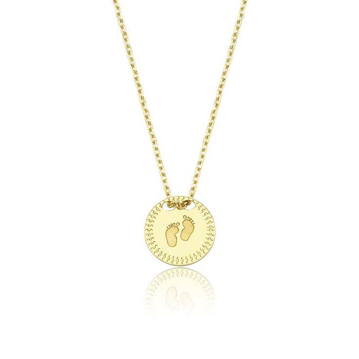 Altın Ayakizi Kolye #altınbaşlife #kolye #altın #takı #tasarım #hediye #gift