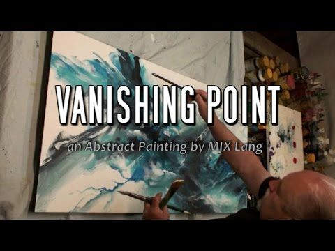 Abstract Painting 'VANISHING POINT' How to Demo Blend, Shade - YouTube