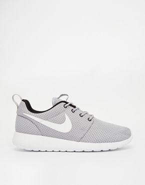 Nike Rosherun Gray Sneakers via ASOS #nike #rosherun #asos
