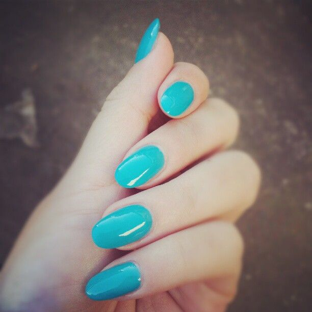1000+ Ideas About Oval Acrylic Nails On Pinterest