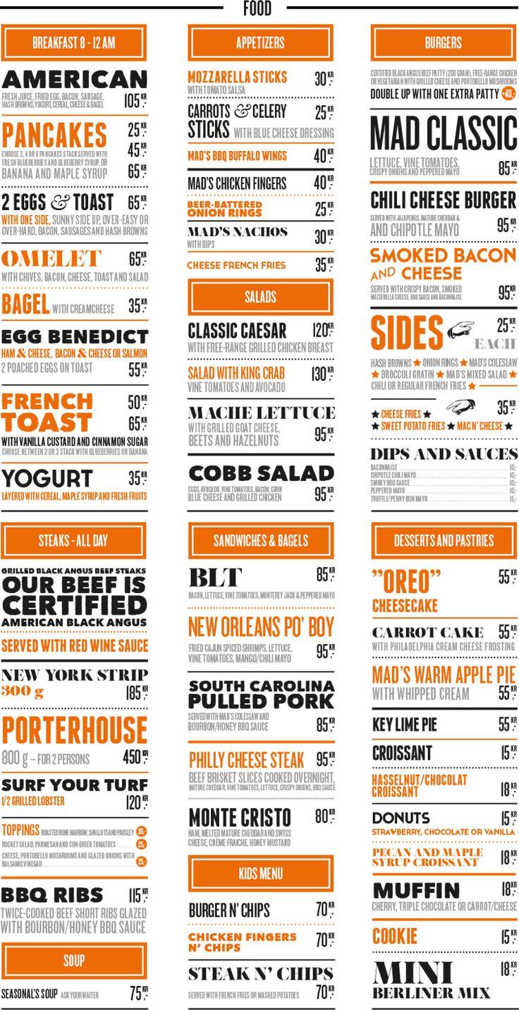 Best 25 diner menu ideas on pinterest american diner for American cuisine menu