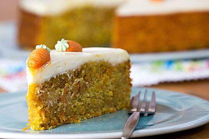 Karottenkuchen, Rüblikuchen oder Möhrenkuchen 1