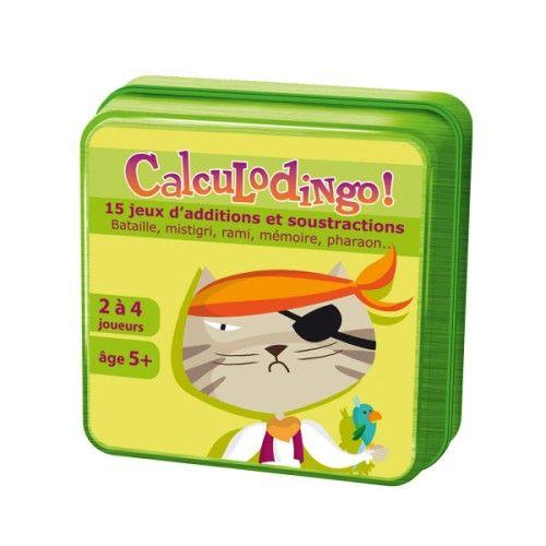 Avec les 23 jeux de cartes de ce coffret, le calcul mental devient un plaisir. Conforme au programme de primaire : additions, soustractions, doubles, comparaisons, suites, unit�s et dizaines, pairs et impairs. Contient un manuel de r�gles de 34 pages avec progression.