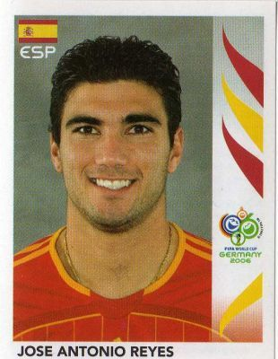 Image result for germany 2006 panini spain reyes
