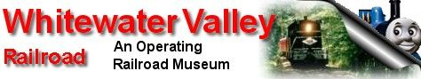 Welcome to the home of the Whitewater Valley Railroad, an operating railroad museum, on the World Wide Web.  The WVRR has saved the Dearborn Tower from being torn down.  More information to come in the future.
