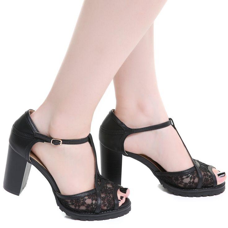 Zapato Tacón Ancho