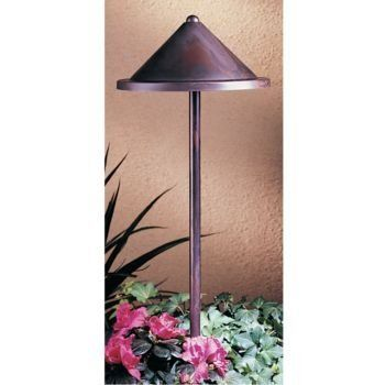 "Arroyo Craftsman LV12-B8R Berkeley Light Antique C by garden.com. $121.00. Arroyo Craftsman LV12-B8R Berkeley Light The Arroyo Craftsman Low-Voltage Pathway light features a stem mount with a 6"" roofed lamp. Inspired with Dirk Van Erp and Gustav Stickley. Complements various architectural styles. Item Specifications: Size: 12"" (stands at 15.5"") Finish Options/Color: AC: Antique Copper BK: Satin Black BZ: Bronze MB: Mission Brown"